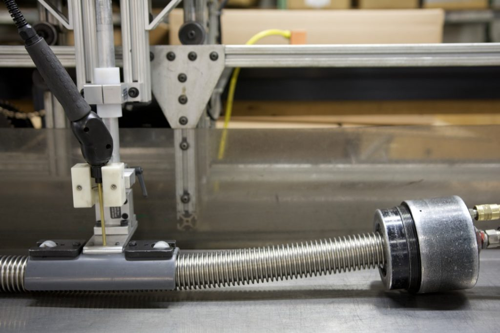 Hydrogen Leak Test - Penflex Metal Hose