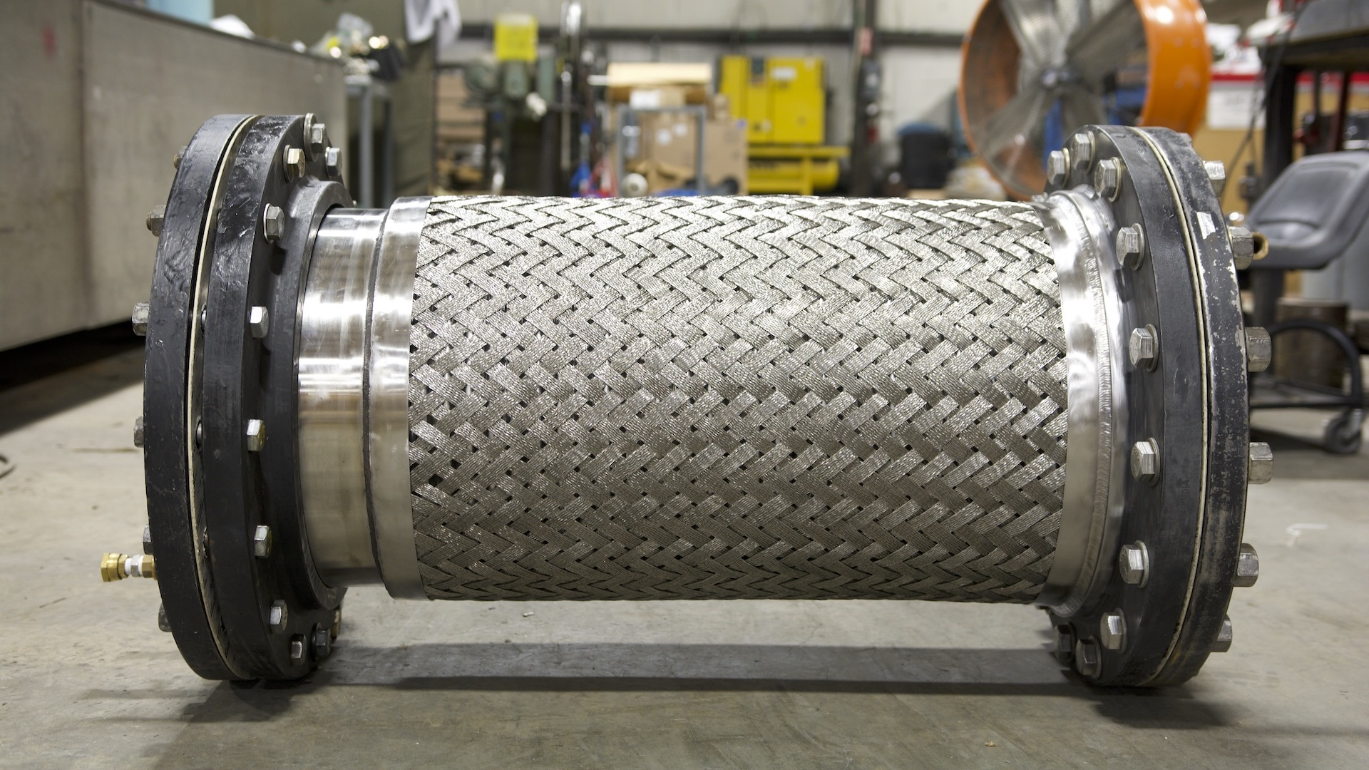 P5 Assembly - 16 - Ready for Hydrostatic Test