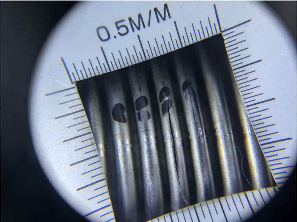 Circumferential Cracks Caused by High Vibration on Metal Hose