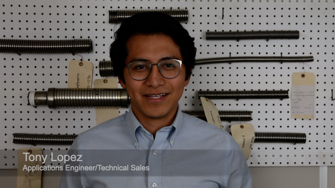 Meet Tony Lopez, Technical Sales and Application Engineer